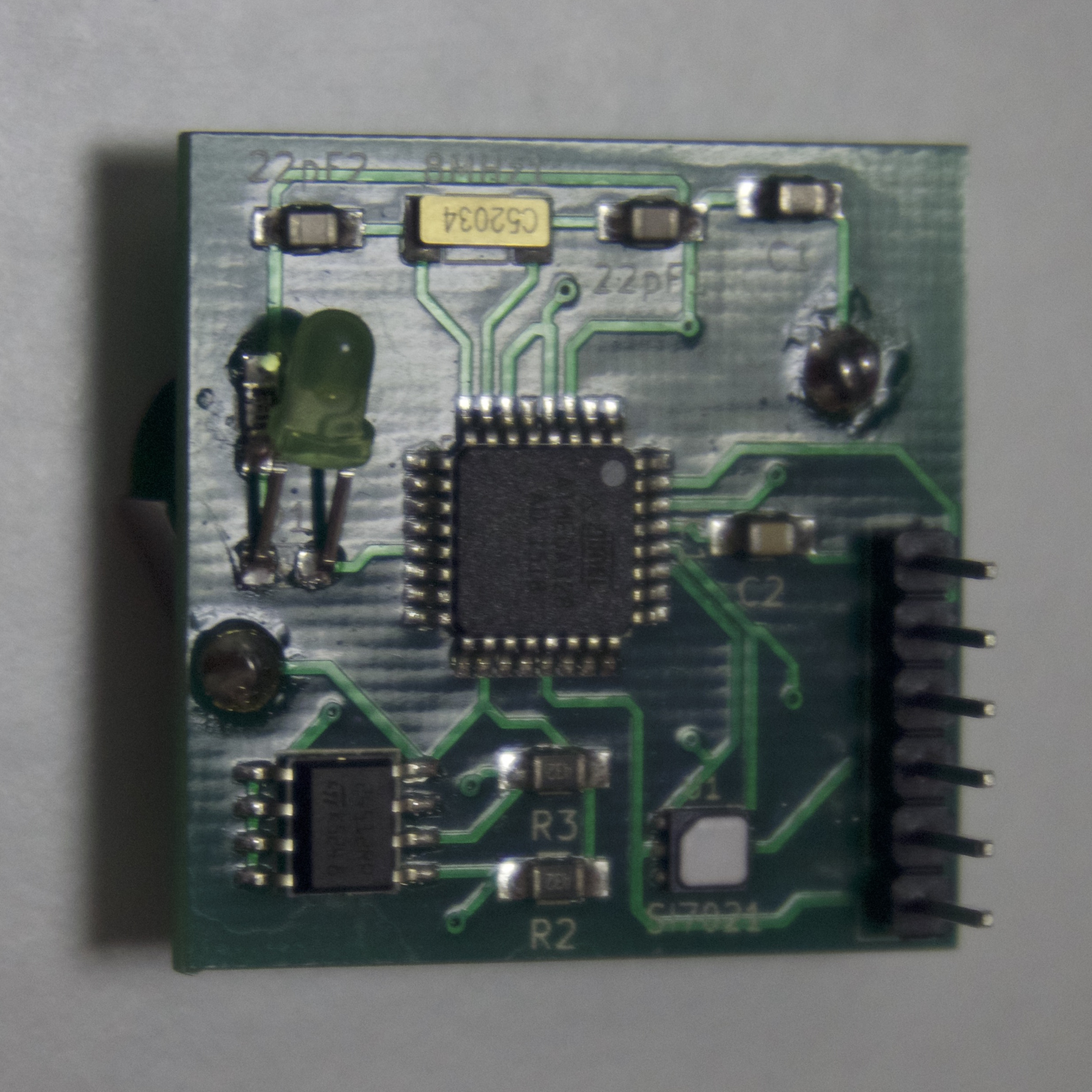 SMD Board Assembled (Front)